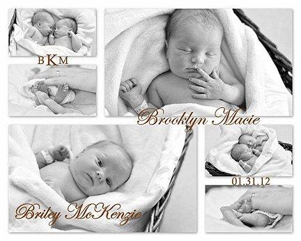 The Kibbles' birth announcement