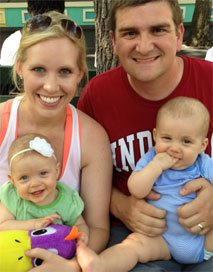 The Allen family who participated in our share your story request | Tennessee Reproductive Medicine | Chattanooga