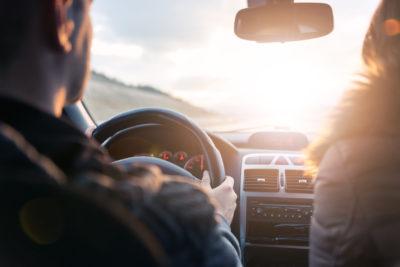 in vitro fertilization | Tennessee Reproductive Medicine | couple traveling in car